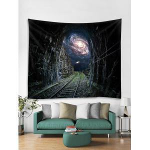 Starry Sky Pathway Printed Tapestry Wall Hanging Decoration -