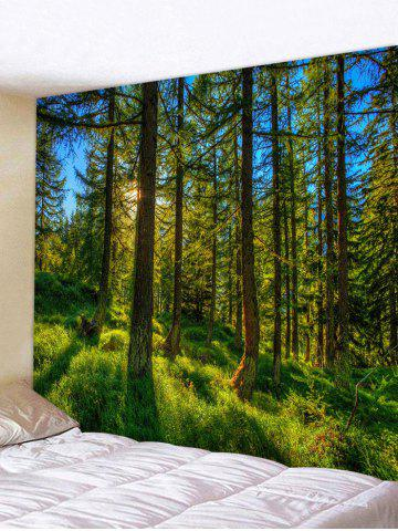 Buy Lush Forest Print Tapestry Wall Hangings Decor