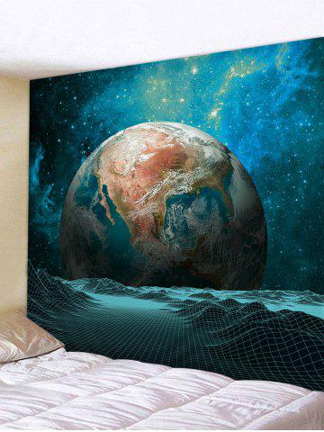 Outfits Wall Hanging Art Galaxy Earth Print Tapestry