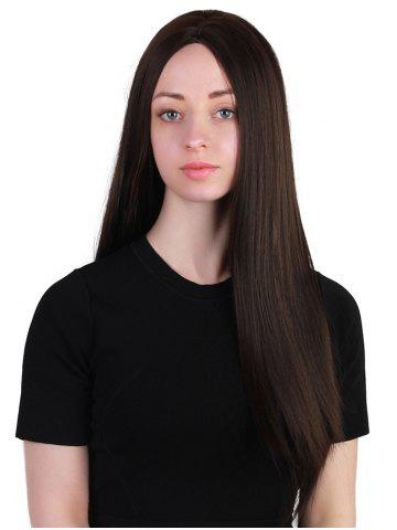 Latest Long Center Parting Straight Party Synthetic Wig