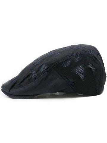 Best Outdoor Hollow Out Breathable Newsboy Hat