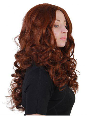Chic Long Center Parting Loose Wave Synthetic Wig