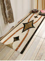 Uhommi Ceramic Tile Print Runner Rugs Floor Mat -