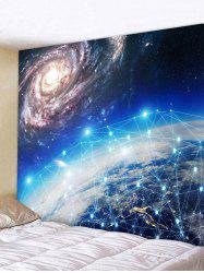 Starry Sky Printed Tapestry Wall Hanging Decor -