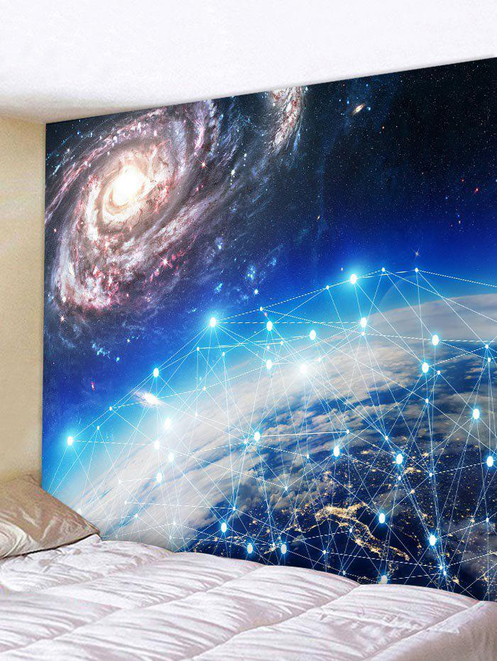 Shop Starry Sky Printed Tapestry Wall Hanging Decor