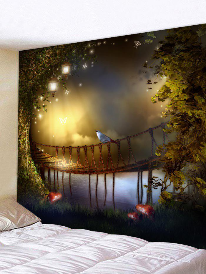 Outfits Fantasy Scene Print Wall Hangings Tapestry Art