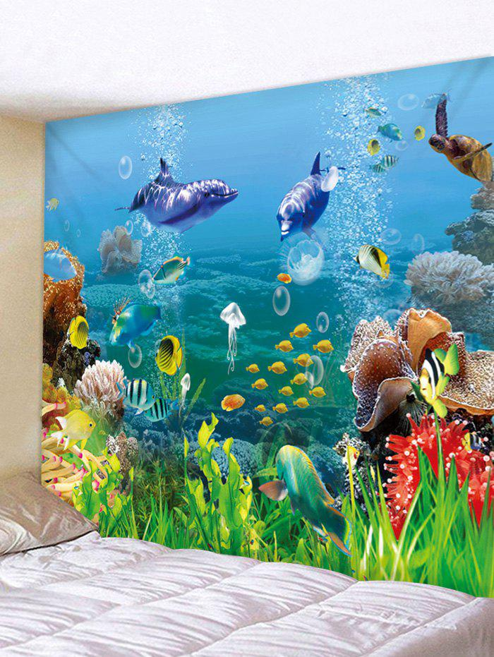 New Beautiful Underwater World Print Wall Tapestry