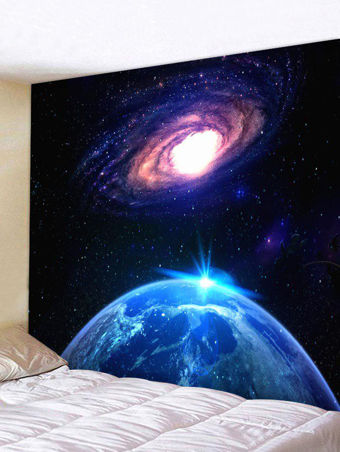 Trendy Starry Sky Universe Print Tapestry Wall Hanging Decor