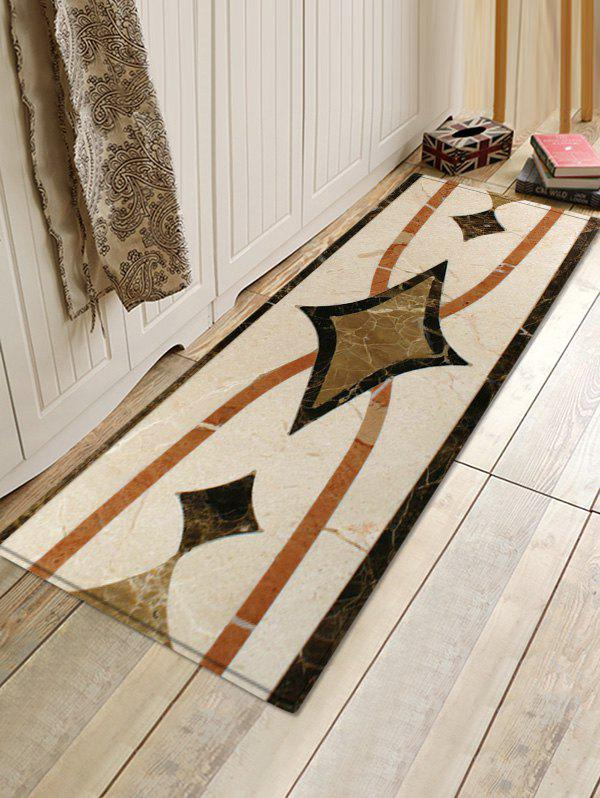 Affordable Uhommi Ceramic Tile Print Runner Rugs Floor Mat