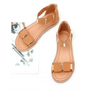 Leisure Vacation Ankle Strap Sandals -