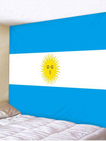 Affordable Flag of Argentina Pattern Wall Decor Tapestry