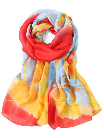 Outfits Romantic Floral Printed Long Scarf
