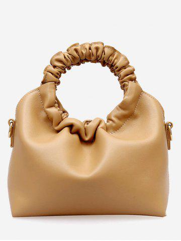 Latest Ruffle PU Banquet Hand Bag