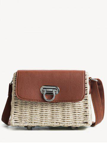 Chic Beach Style Straw Shoulder Bag
