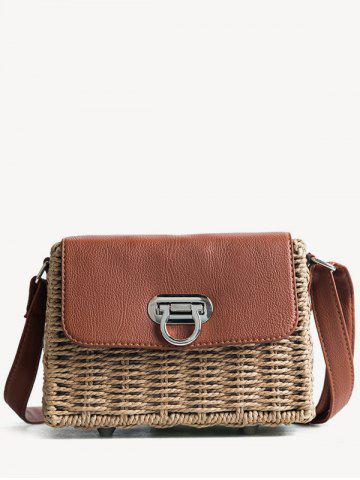 Discount Beach Style Straw Shoulder Bag