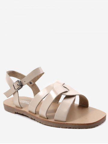 Discount Ankle Strap Casual Flat Heel Sandals