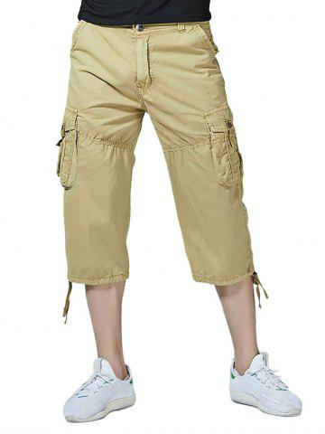 Cheap Casual Multi-pocket Cargo Pants