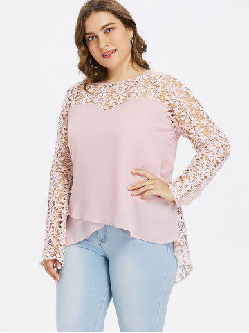 0cdb10967da Plus Size Chiffon Blouses - Free Shipping, Discount And Cheap Sale ...