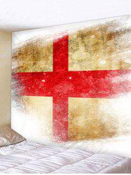 Cross of Saint George Flag Wall Decor Tapestry -