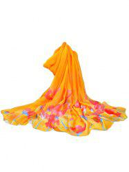 Floral Decorative Travel Party Elegant Scarf -