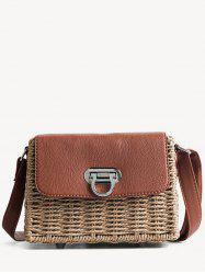 Beach Style Straw Shoulder Bag -