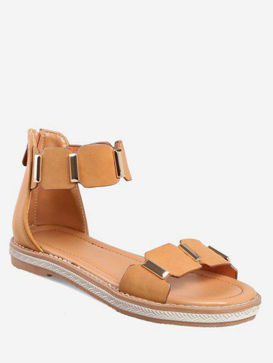 Sale Leisure Vacation Ankle Strap Sandals
