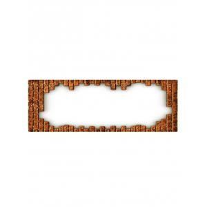 Brick Printed Floor Mat Runner Rugs -