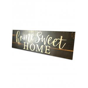 Wood Engraved Sweet Home Sign Home Decoration -
