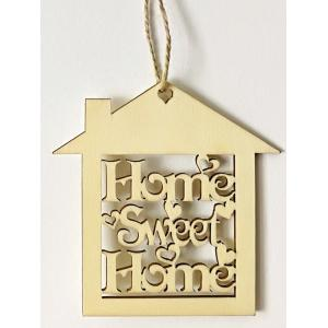 10PCS Wooden Sweet Home Sign Hanging Decorations -