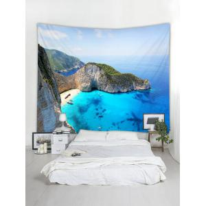 Mountain Top Sea Printed Tapestry Wall Hanging Decoration -