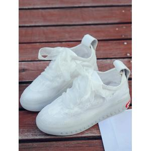 Casual Lace Flower Outdoor Skate Shoes -