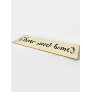 Wooden Engraved Home Sign Home Decor -