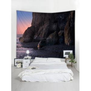Dark Sunset Printed Tapestry Wall Hanging Decoration -