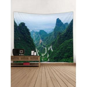 Mountains Printed Tapestry Wall Hanging Decor -