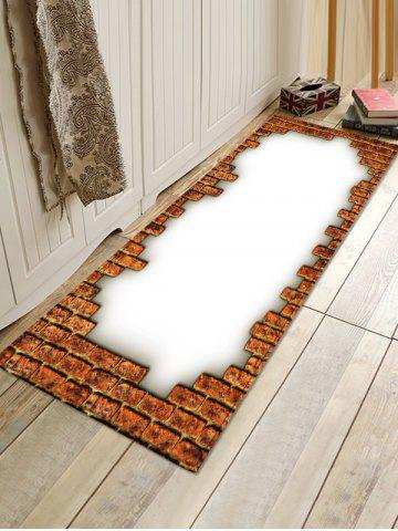 Store Brick Printed Floor Mat Runner Rugs