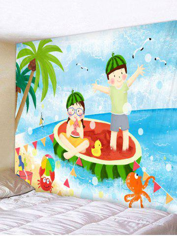 Latest Summer Profusion Printed Tapestry Wall Hanging Decoration