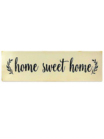 Outfit Wooden Engraved Home Sign Home Decor