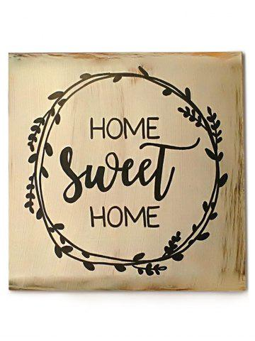 Store Wood Engraved Sweet Home Sign Home Decor