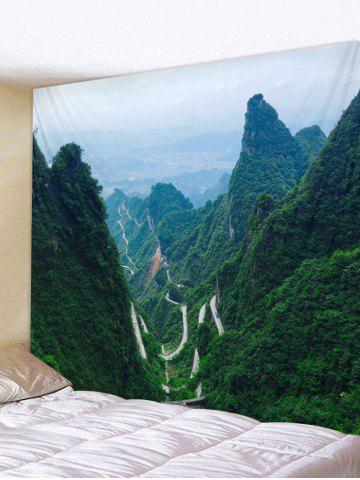 Hot Mountains Printed Tapestry Wall Hanging Decor