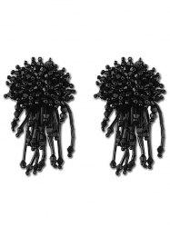 Bohemian Faux Crystal Beads Drop Earrings -