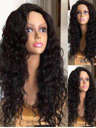 Side Parting Long Water Wave Synthetic Wig -