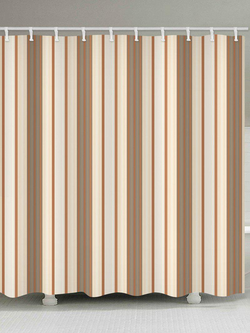 Best Vertical Stripe Waterproof Shower Curtain