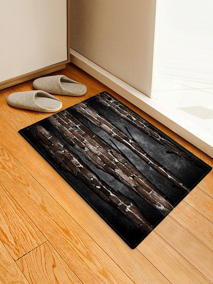 Store Bricks Wall Printed Skid-proof Floor Mat
