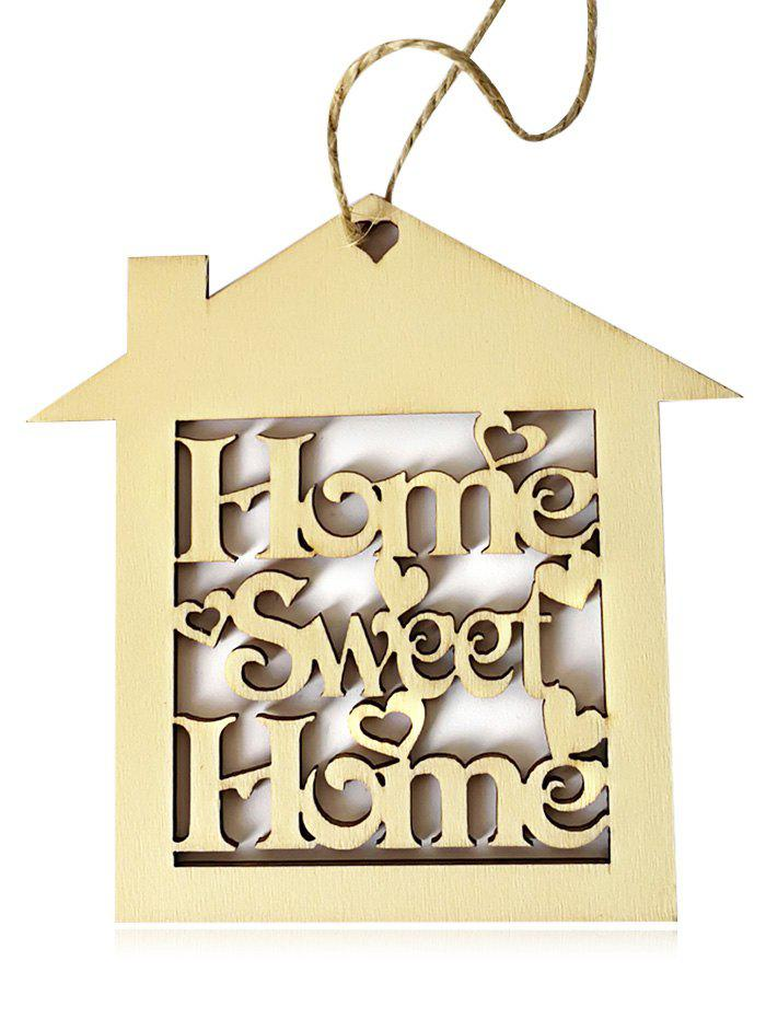 Buy 10PCS Wooden Sweet Home Sign Hanging Decorations