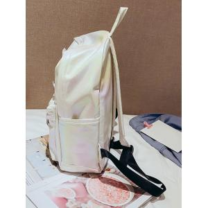 Outdoor Travel Causal Patchwork Backpack -