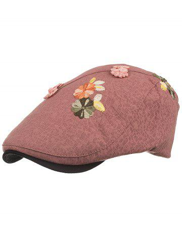 Affordable Retro Floral Embroidery Ivy Hat