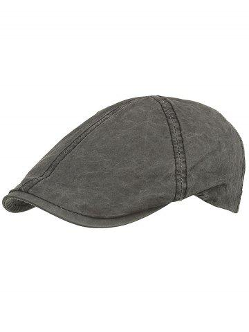 Trendy Lightweight Washed Dyed Duckbill Hat