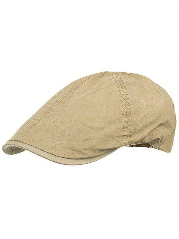 Chic Lightweight Washed Dyed Duckbill Hat