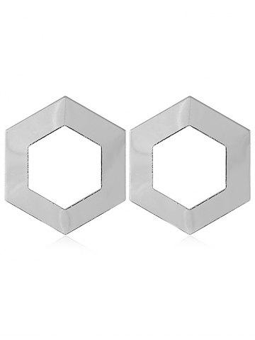 Shops Alloy Geometric Shape Stud Earrings