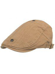 Button Decorative Adjustable Jeff Hat -